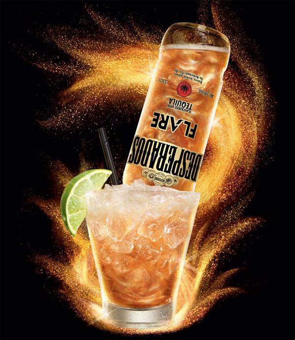 La Desperados Flare en cocktail