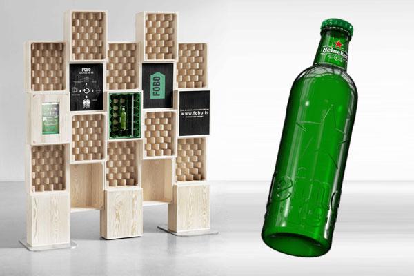 La FOBO STATION Heineken et sa nouvelle bouteille