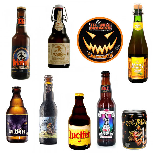 Des bières pour votre soirée d'Halloween