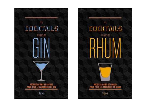 Cocktails à base de Gin ou de Rhum