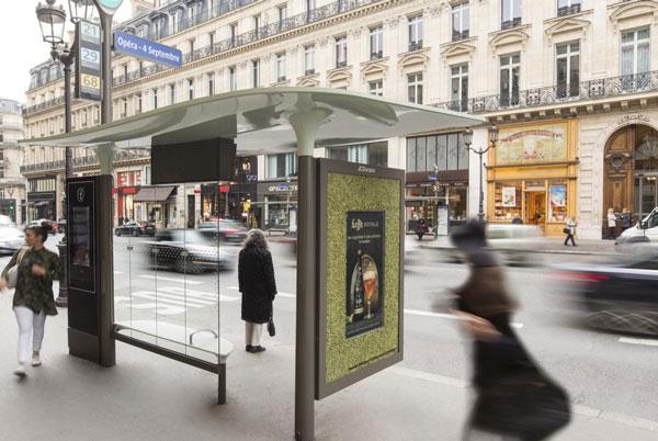 Campagne pub Leffe Royale Abribus Paris