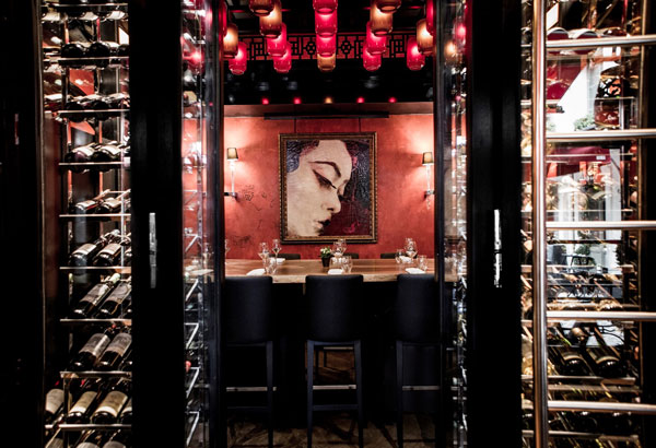 La Wine Room du Buddha-Bar Hotel Paris