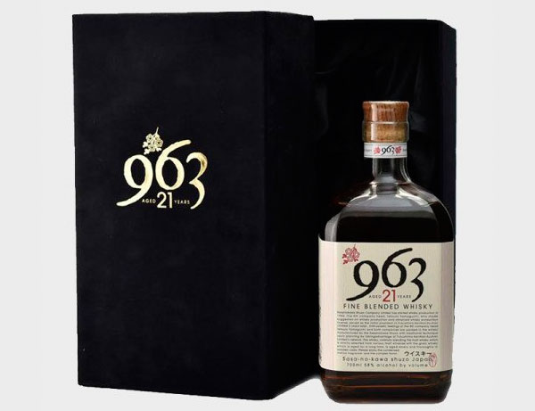 Le whisky japonais Yamazakura 963, 21 ans