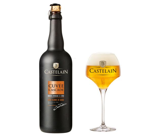La nouvelle bière de la Brasserie Castelain, la Cuvée Cascade