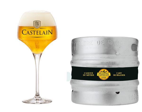 Bière Castelain Grand Cru fût pression 20 litres