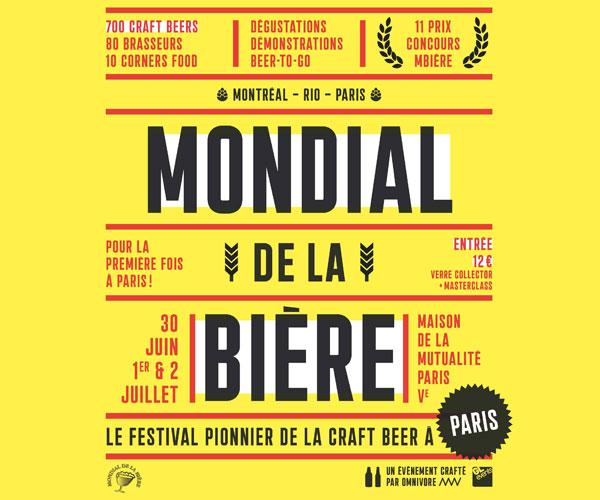 Mondial de la Bière Paris 2017