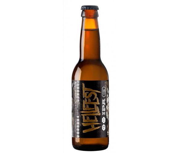 La bière Hellfest de la brasserie Mélusine
