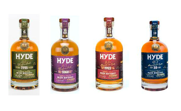 La gamme Hyde Irish Whiskey