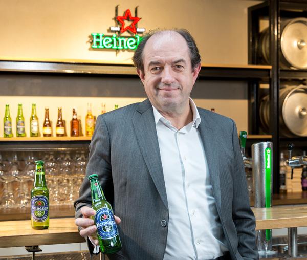 Pascal Sabrié, Président Heineken France, présente la Heineken 0.0