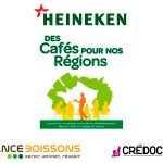 Prix des Cafés pour Nos Régions Heineken et Baromètre France Boissons/CREDOC
