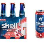 Skøll Ice Berry, la bière aromatisée à la vodka, aux myrtilles et cranberries