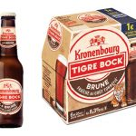 Kronenbourg Tigre Bock Brune disponible en grandes surfaces