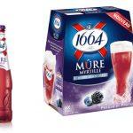 Brasseries Kronenbourg lance la bière 1664 Mûre Myrtille