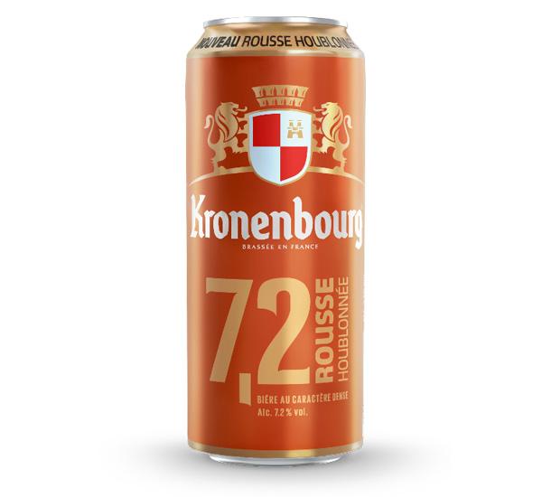 La nouvelle Kronenbourg 7.2 Rousse