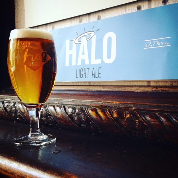 La nouvelle bière ultra légère de FrogBeer: Halo Light Ale