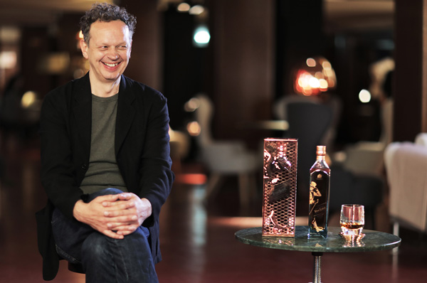 Tom-Dixon présente sa Johnnie Walker Blue Label Capsule Series