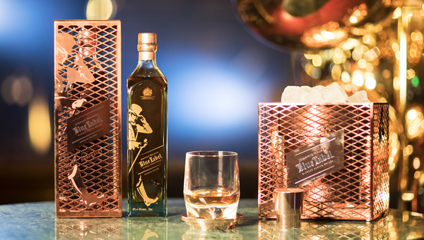 The Johnnie Walker Blue Label Capsule Series par Tom Dixon