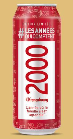 Boite Kronenbourg personnalisée