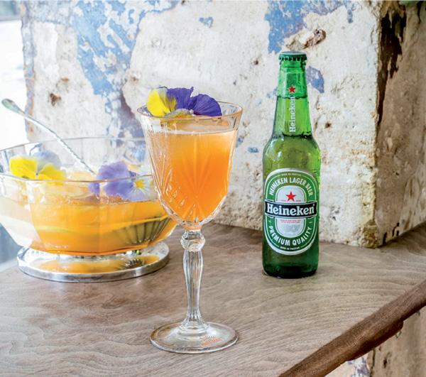 Le cocktail MaryMail de Marie Viadieu pour Heineken