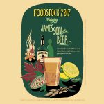 Boilermaker et James, son of a beer au Foodstock