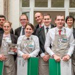 Les lauréats du Concours de Bièrologie Heineken 2017