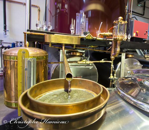 Les premiers centilitres du New Malt Spirit Ninkasi ont coulé en décembre 2015 à la distillerie de Tarare