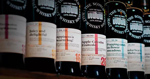 Embouteillages de la Scotch Malt Whisky Society