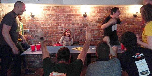 Tournoi de Beer Pong au FrogPub
