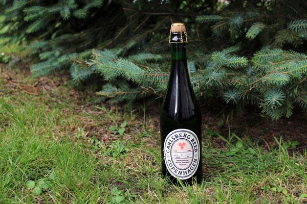 La bière Carlsberg 1883