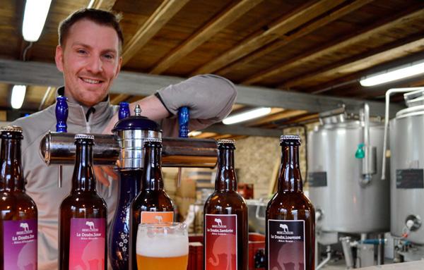 Dimitri Morin de la Biere du Doubs à Nancray