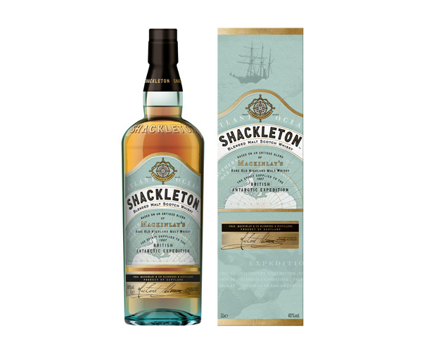Le whisky Shackleton de Whyte and Mackay