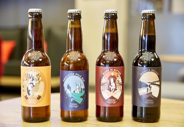 4 nouvelles recettes pour les Bières Georges