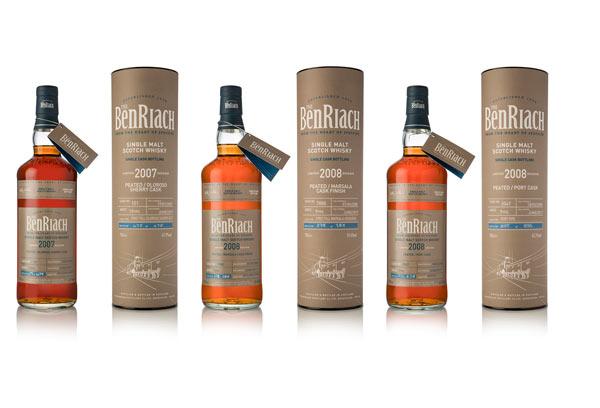 BenRiach lot 14 bouteilles et tubes (suite)