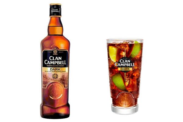 Clan Campbell Dark et le cocktail Clan Libre