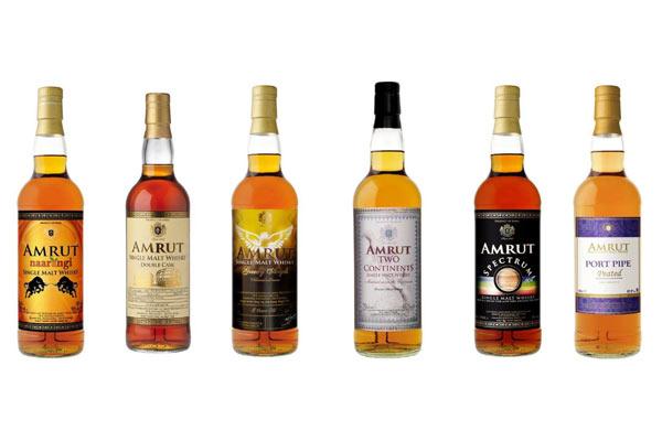 Les 6 éditions limitées 2017 du whisky indien Amrut