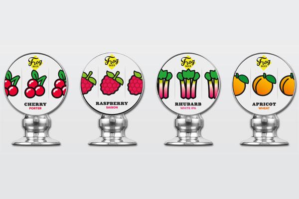La Fruit Beer Series de FrogBeer