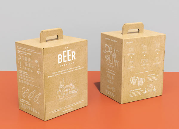 Le kit de brassage de la Beer Fabrique