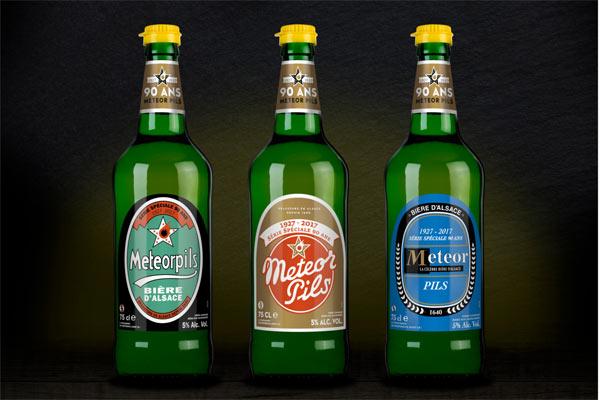 Série limitée Météor Pils 90 ans