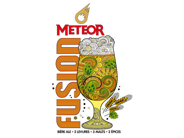 Nouvelle bière éphémère Météor Fusion