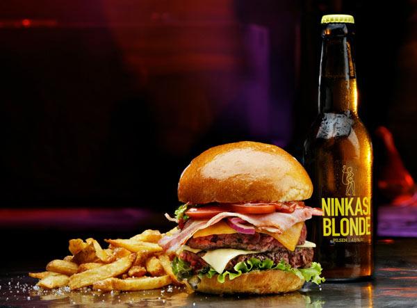 Bière, burger, musique, le concept Ninkasi