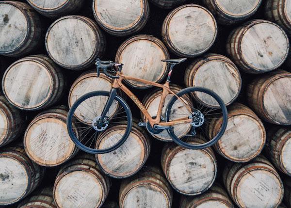 Le superbe vélo Renovo en fûts de scotch whisky Glenmorangie