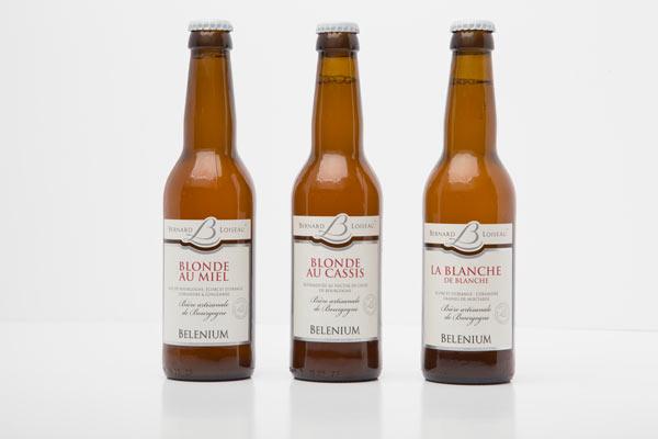 Les bières Bernard Loiseau @Arnaud Dauphin