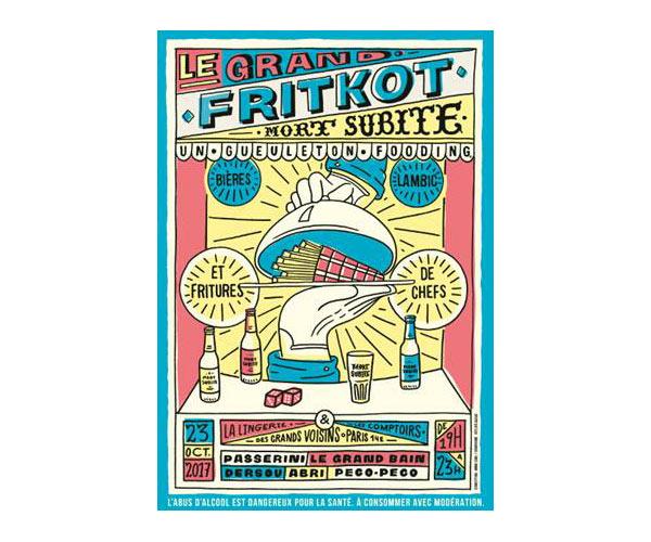 Le Grand Fritkot avec Mort Subite