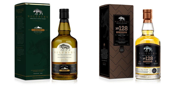 Wolfburn Morven et Small Batch 128
