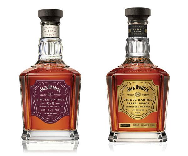 Les nouveaux Jack Daniel's Single Barrel Rye et Proof