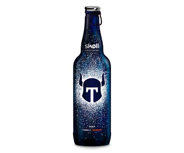 La bouteille de 66cl Skøll Winter Edition 2017