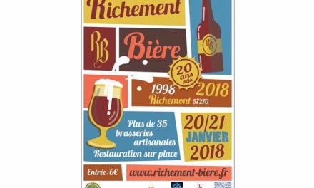Richement Bière fête son 20e anniversaire