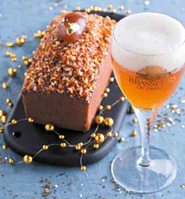 Cake au Marron et bière de Noël