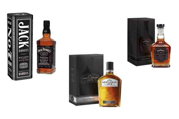 Les coffrets de Noël Jack Daniel's en grande distribution