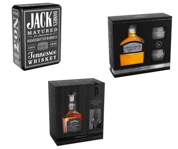 Pour les Fêtes, les coffrets Jack Daniel's dans le réseau cavistes